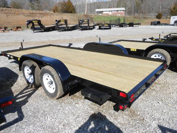 Big Tex 60ch 16 Car Hauler With Slide In Ramps Koster Equipment